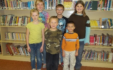 October Elementary Students of the Month