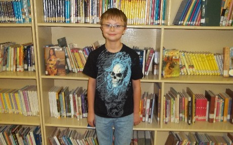 Octobber Elementary Star Student of the Month        Anthony Goebel